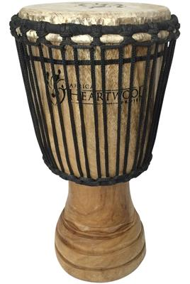 Africa Heartwood Project Hand-carved Djembe