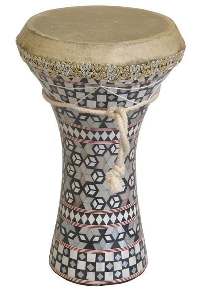 Mosaic Wooden Doumbek