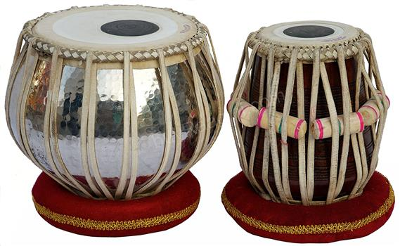 AKBAR MIAN & BROS™ Copper Tabla Set