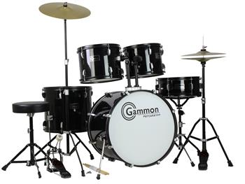 Gammon Percussion Full Size Complete Adult 5 Piece