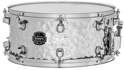 Mapex Hammered Steel Snare Drum