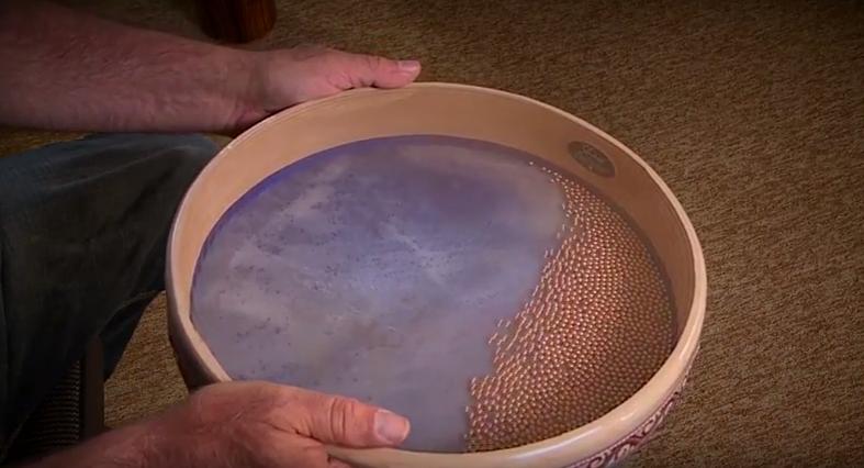 make ocean drum