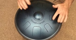 Play a Steel Tongue Drum