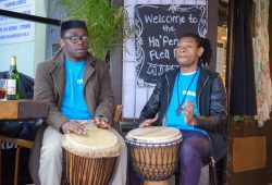 talking drum history